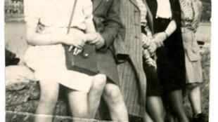 'El diario de Marguerite' en tiempos de guerra, en el Centro de Historia de la Resistencia y de la Deportación, en Lyon.