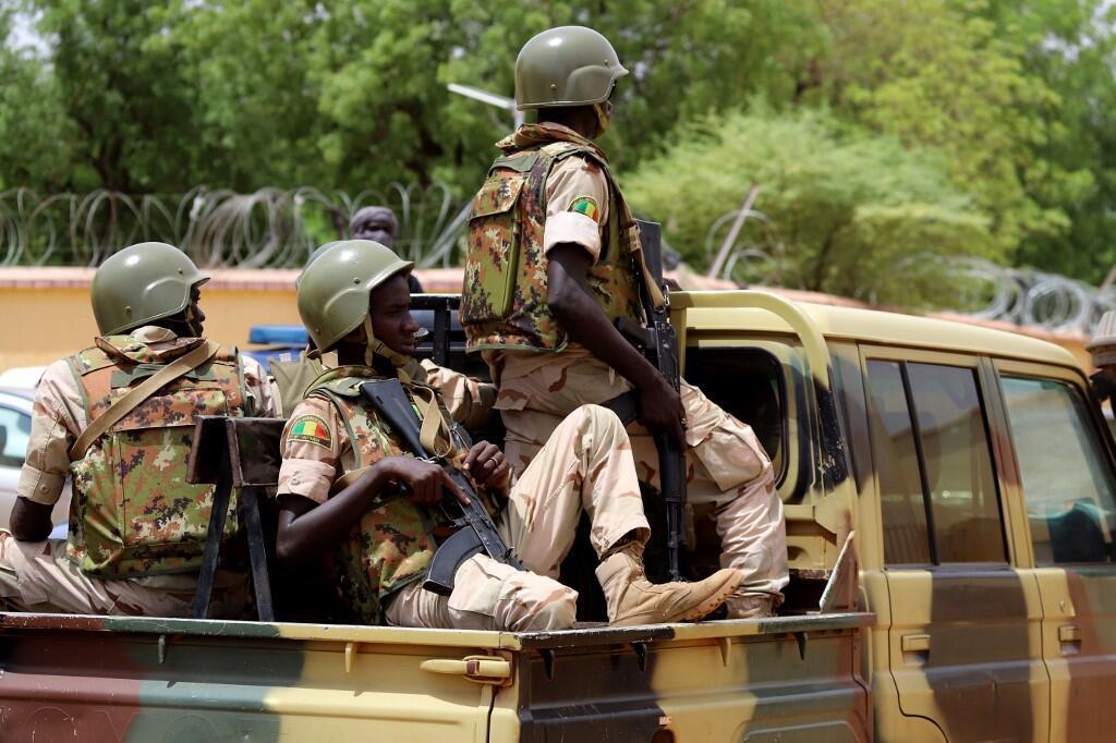 Des soldats de l'armée malienne dans la ville de Gao le 24 juillet 2010 (image d'illustration).