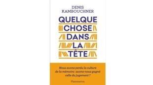 Couverture du livre de Denis Kambouchner.