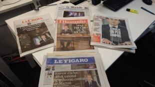 Diarios franceses  11.12.2018