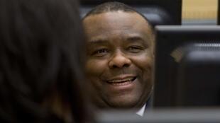 Jean-Pierre Bemba devant la CPI le 27 novembre 2013.
