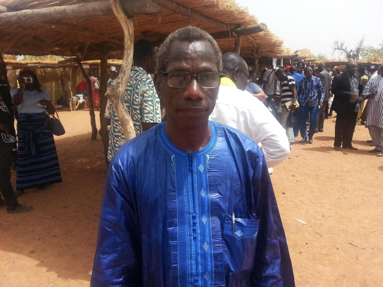 Traoré Frédéric, président du comité exécutif national de l'association pour le développement du département de Bomborokuy.