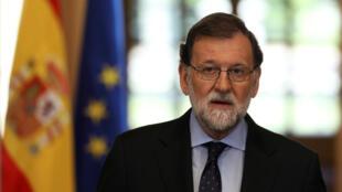 Mariano Rajoy el pasado 4 de mayo en La Moncloa .