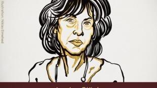 A poetisa norte-americana Louise Glück recebeu o Nobel da Literatura de 2020.