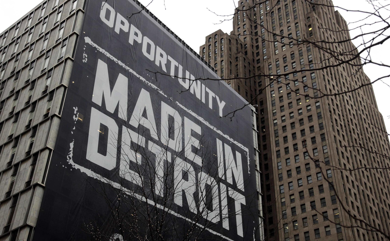 Dívida de mais de 18 bilhões de dólares levou a cidade americana de Detroit a pedir falência.