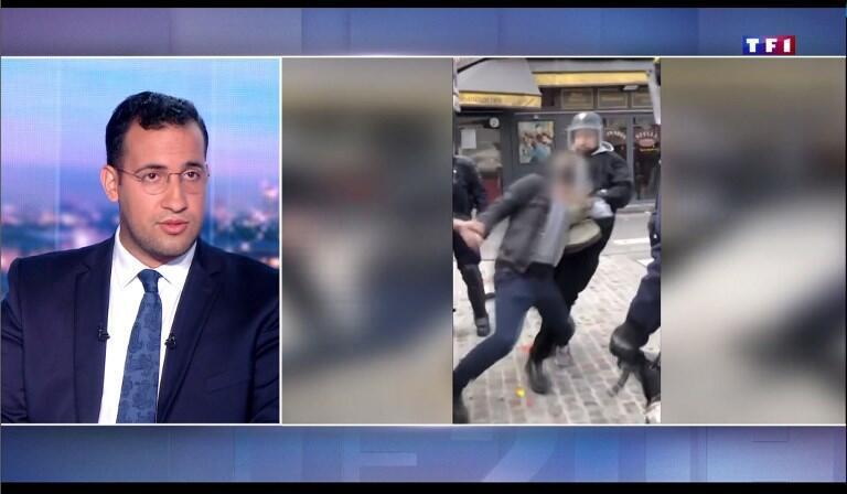 Cựu trợ lý an ninh của tổng thống Emmanuel Macron, ông Alexandre Benalla, trả lời trên đài TF1 ngày 27/07/2018.
