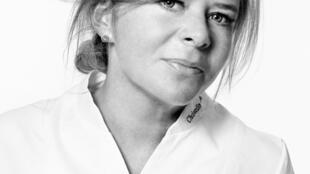 Christelle Brua trabaja en el restaurante parisino Le Pré Catelan.