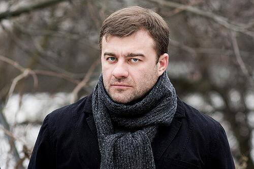O ator russo, Mikhail Poretchenkov.
