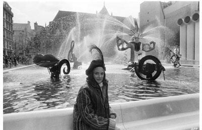 Portrait de l'artiste Niki de Saint Phalle.