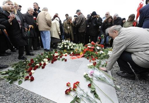 Ceremony on the 65th anniversary of the liberation of Buchenwald