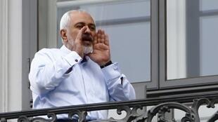 Ministan harkokin wajen Iran  Javad Zarif, à Vienne