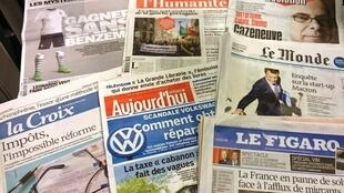 Diários franceses 12/11/2015