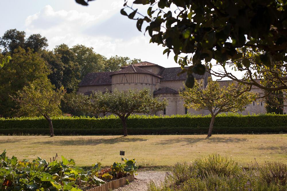 Средневековые сады Св. Фларана