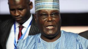 Tsohon mataimakin shugaban Najeriya Atiku Abubakar kuma dan takarar shugabancin kasa karkashin Jam'iyyar PDP.