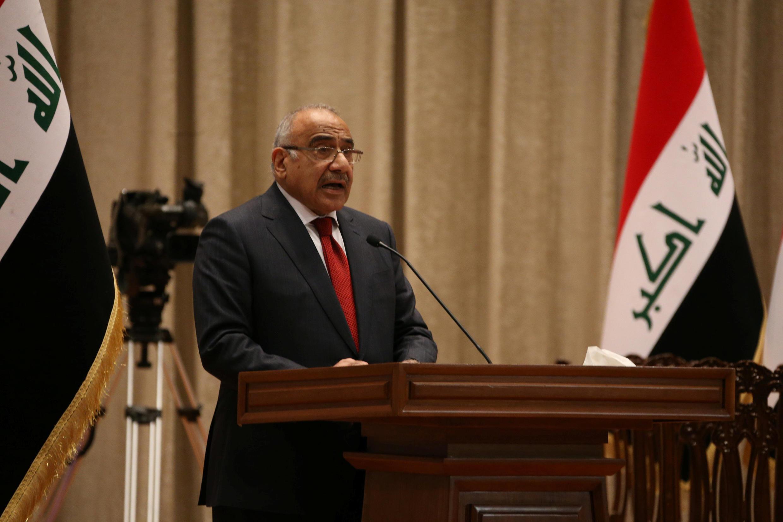 Firaministan Iraqi Adel Abdel Mahdi