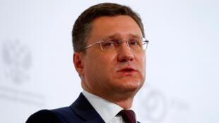Le ministre de russe de l'Energie, Alexander Novak (image d'illustration).