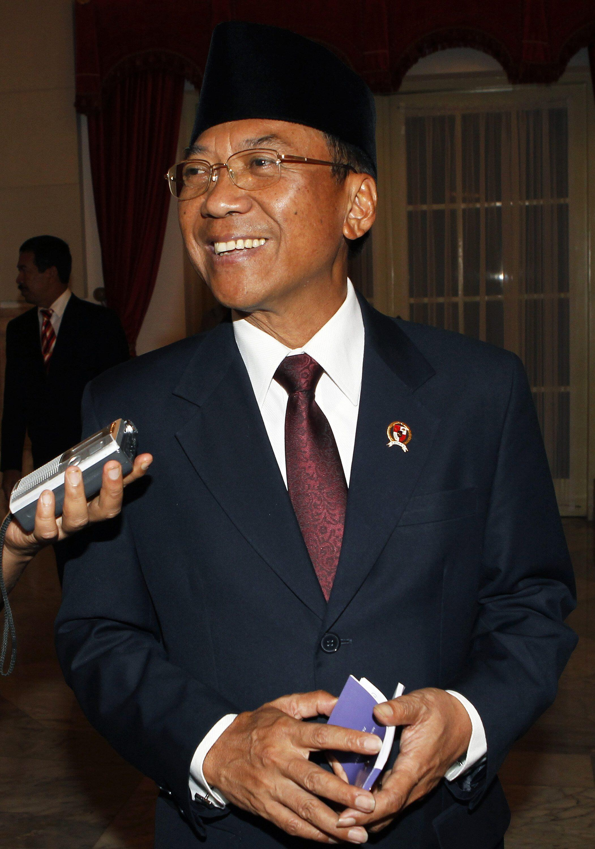 Bộ trưởng Năng lượng Indonesia Jero Wacik