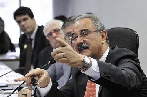 José Roberto Bernasconi no Senado em debate sobre a situação das obras da Copa