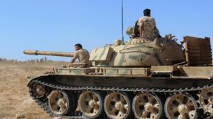 Masar ta kaddamar da yaki akan Mayakan IS a Libya