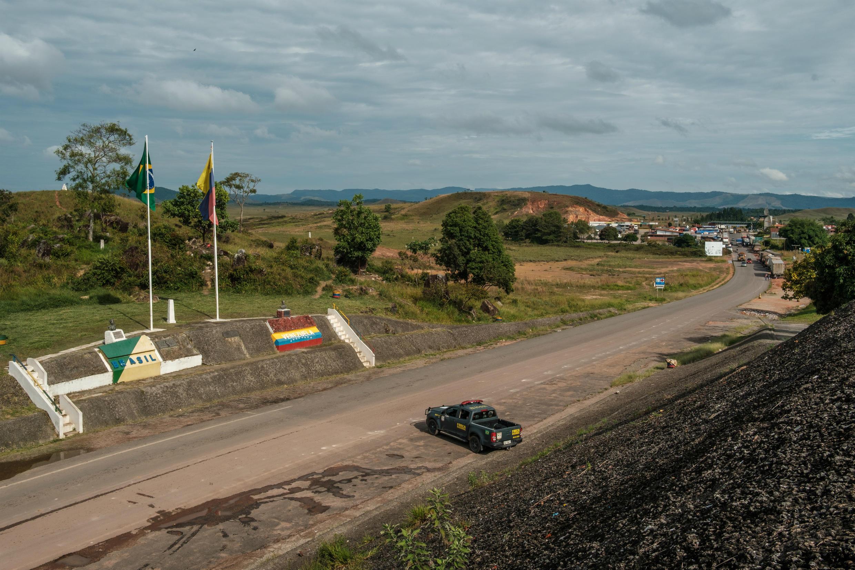 Frontière vénézuélo-brésilienne, entre la ville vénézuélienne de Santa Elena de Uairen et Pacaraima. (Archives)