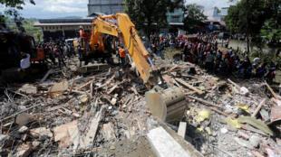 印尼地震灾区的救援工作 2016年12月7日