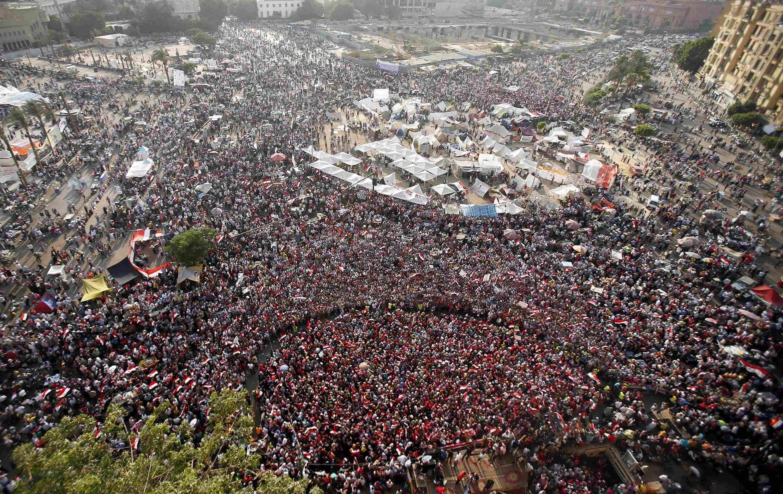 Митинг противников президента Мурси на площади Тахрир в Каире 02/07/2013