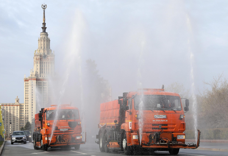 2020-04-24_HEALTH-CORONAVIRUS-RUSSIA Russie Moscou