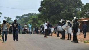 Rikicin siyasa ya barke a garin Bangouanou na kasar Ivory Coast