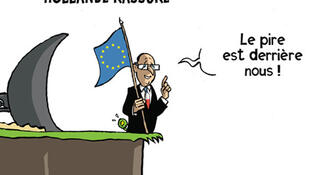 Dessin de Nicolas Vadot, primé au Press Cartoon Europe en 2011 et au Press Cartoon Belgium en 2011 et 2012.