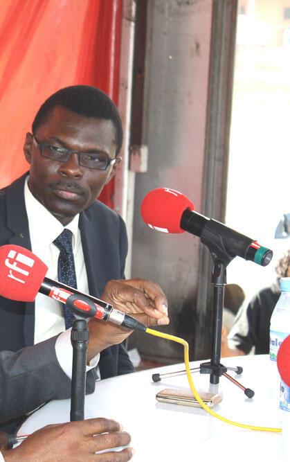 Joseph Djogbenou.