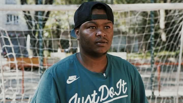 O jogador de futebol e fundador do time para homens transgêneros Raphael