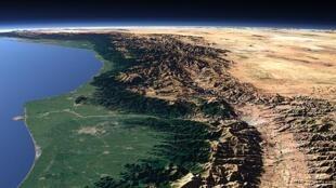 کاهش آب دریای خزر
