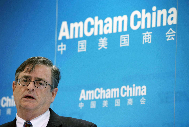 中國美國商會主席齊默爾曼,2016年1月20號 北京