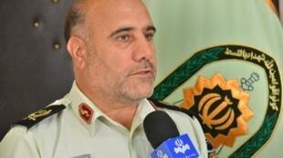 حسین رحیمی فرمانده نیروی انتظامی تهران بزرگ
