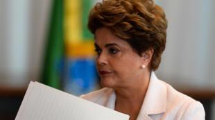 Dilma Rousseff el pasado 16 de agosto de 2016.
