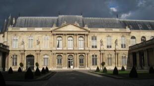 L'Hôtel de Soubise à Paris abrite les Archives nationales.