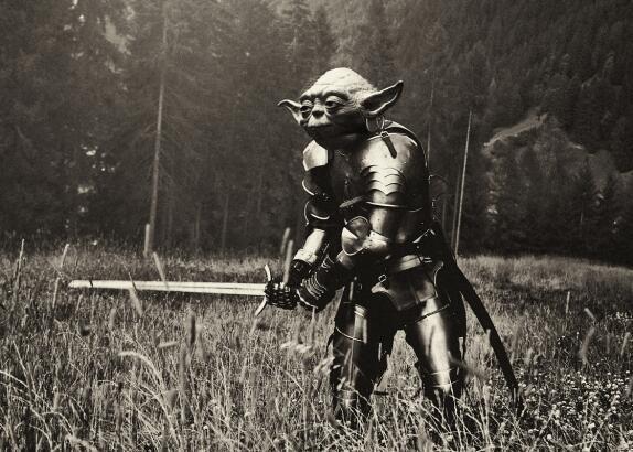 Daniel Polevoy fotografía a un guerrero pacífico.