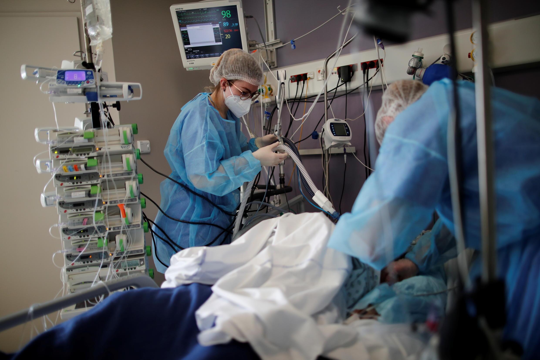 Intensive Care Unit of Melun-Senart hospital_8 March 2021_Reuters_Benoit Tessier