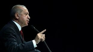 Le président turc Recep Tayyip Erdogan va présenter le projet de réforme de la justice.