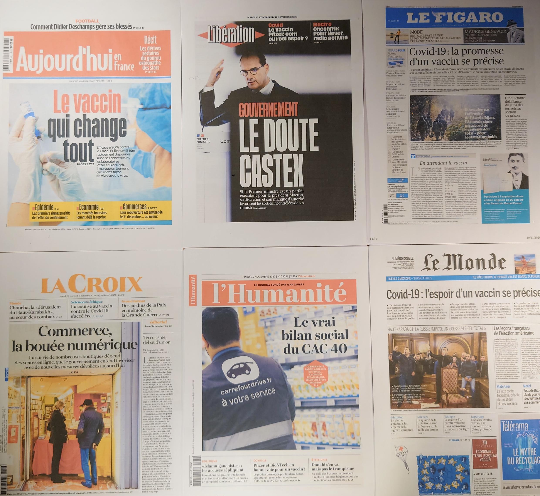 Diários franceses 10 11 2020