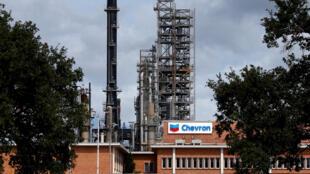 Refinaria Pascagoula, da Chevron, em Mississippi, nos Estados Unidos.