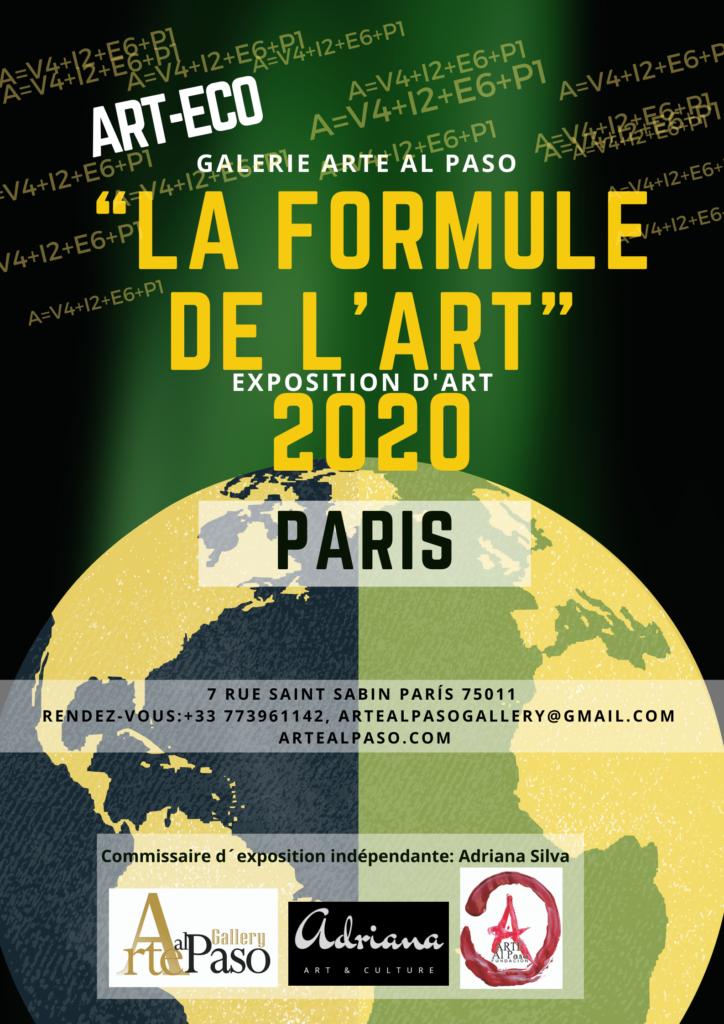 Cartel de la exposición de París