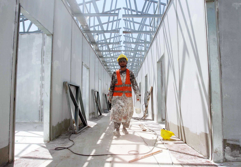 ساخت یک بیمارستان صدتختخوابی برای بیماران مبتلا به کووید ١٩ در هرات