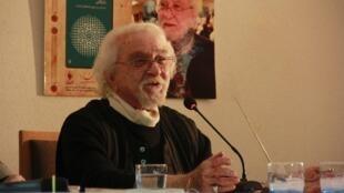 داریوش شایگان در مراسم رونمایی کتاب «در جستوجوی فضاهای گمشده» در تهران
