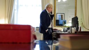 英国首相约翰逊资料图片