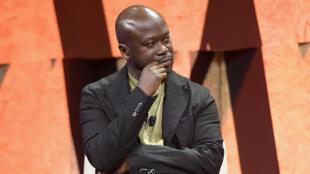 L'architecte britannico-ghanéen David Adjaye, lauréat de la médaille d'or 2021 du Royal Institute of British Architects (RIBA), ici en 2017.