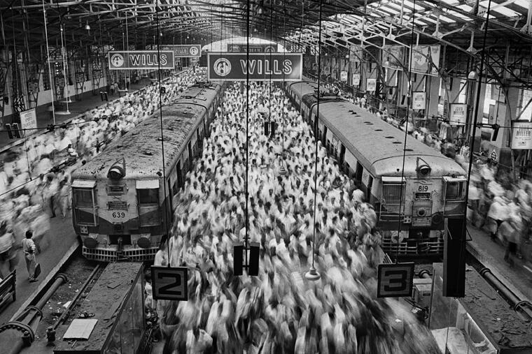 Church Gate Station. Mumbai, 1995