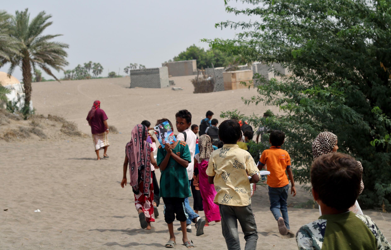 UNICEF has estimated that two million Yemeni children were without school even before the coronavirus pandemic