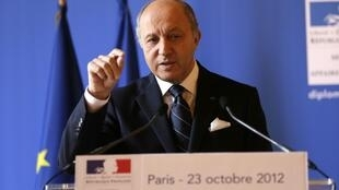 لوران فابیوس، وزیر خارجۀ فرانسه