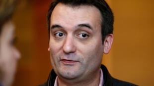 Florian Philippot, Vice-presidente da Frente Nacional, deixou o partido a 21 de Setembro de 2017